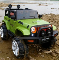 Детский электромобиль на управлении Джип 4WD