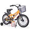 """Детский двухколесный велосипед колеса 16 дюймов INTENSE 16"""" N-200 Orange"""