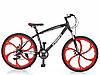 Алюминиевый велосипед горный MTB T26BLADE 26.1W SHIMANO колеса 26 дюймов/ цвет черно-красный