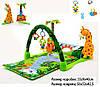 "Развивающий игровой коврик для младенца ""Тропический лес"" JJ8502"