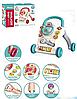 Развивающий музыкальный детский игровой центр 698-62 Каталка ходунки толкатель