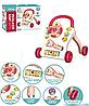 Развивающий музыкальный детский игровой центр 698-63 Каталка ходунки толкатель