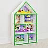 Будиночок стелаж, полиця для іграшок і книг PLK-L-7g Свинка Пеппа біло-зелений**