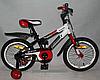 Детский двухколесный велосипед Azimut Stitch A 16 дюймов красный**