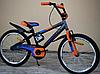 Детский двухколесный велосипед Azimut Stitch A 16 дюймов оранжевый**