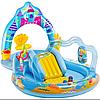 Intex 57139, детский игровой центр бассейн с горкой Русалки