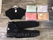 """Спортивний костюм жіночий з укороченим топом+штани,(5кол.) р-р S-L """"GEREKLI"""" недорого від прямого постачальника"""