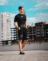 Чоловічий літній спортивний костюм комплект футболка+шорти,мужская спортивная одежда XS,S,M,L,XL