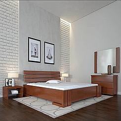 Кровать деревянная полуторная Домино