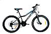 Спортивный горный велосипед AZIMUT FOREST колеса 24 дюйма GFRD / дисковые тормоза SHIMANO