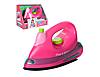 Детский игровой набор бытовой техники Keenway 21678 Утюг со световыми и звуковыми эффектами розовый