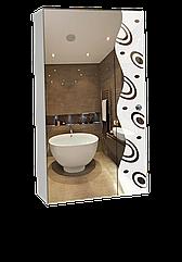 Шкаф-зеркало (40*70*14см) ШК801