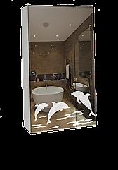 Шкаф-зеркало (40*70*14 см) ШК805