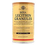 Соевый Лецитин в Гранулах, Soya Lecithin Granules, Solgar, 454 гр.
