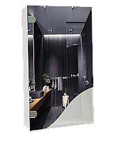 Шкаф-зеркало (40*70*14см) ШК808