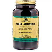 Мультивитамины для Мужчин, Male Multiple, Solgar, 120 таблеток