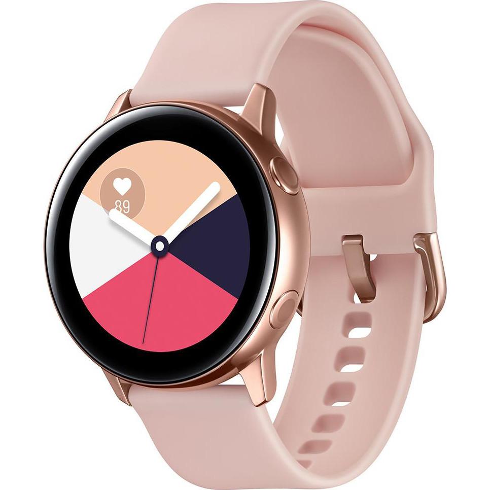 Женские часы SAMSUNG GALAXY WATCH ACTIVE GOLD SM-R500