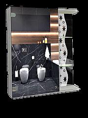 Шкаф-зеркало (60*70*14см) ШК809
