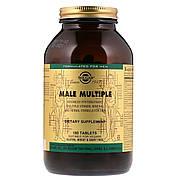 Мультивитамины для Мужчин, Male Multiple, Solgar, 180 таблеток