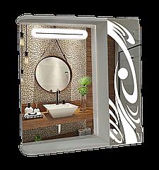 Шкаф-зеркало (60*70*14см) ШК812