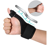 Бандаж - ортез для большого пальца руки с алюминиевой вставкой при переломах травмах пальца