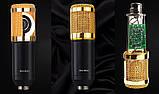 Мікрофон конденсаторний Protech BM-800 зі звуковою картою V8X pro і пантографом з вітрозахистом, фото 6