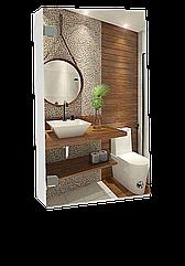 Шкаф-зеркало (40*63*12см) ШК822