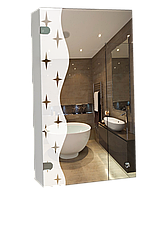 Шкаф-зеркало (40*63*12см)  ШК824