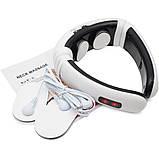 Электрический массажер для шеи импульсный электростимулятор HX 5880 Neck Massager 3 режима, фото 7