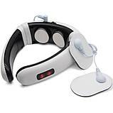 Электрический массажер для шеи импульсный электростимулятор HX 5880 Neck Massager 3 режима, фото 10