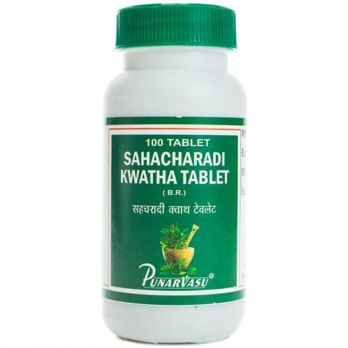 Сахачаради кашая, кватха, 100 таб, устраняет застой крови, уменьшает варикоз, геморой