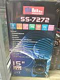 Колонка аккумуляторная Sky Sound-7272 15 дюймов с радиомикрофоном 200W (USB/FM/Bluetooth/TWS), фото 6