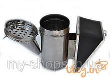 Димар пасічний з оцинкованої сталі зі знімним хутром