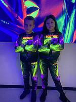 Детский светящийся 3D костюм унисекс Fortnite Tanuki (Фортнайт Тануки). Маска в подарок