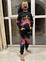 Детский светящийся 3D костюм унисекс COUNTER.STRIKE (Контр Страйк). Маска в подарок