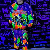 Детский светящийся 3D костюм унисекс ROBLOX (Роблокс). Маска в подарок