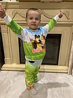 Детский светящийся 3D костюм унисекс Маша и Медведь. Маска в подарок