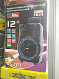 Колонка аккумуляторная Sky Sound-7171 12 дюймов с радиомикрофоном 180W (USB/FM/Bluetooth/TWS), фото 4