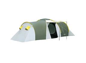 Палатка туристическая Presto Nadir 8, 3500 мм, синяя