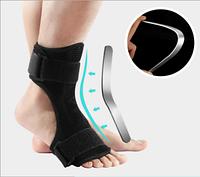 Бандаж - ортез для голеностопа с алюминиевой вставкой при травмах переломах