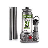 Гидравлический бутылочный домкрат БЕЛАВТО DB02P 2 тонны, высота подъема 148-278мм