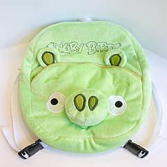 Рюкзак детский Weber Toys Angry birds Свинья 33см (WT601)