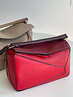 Стильная женская сумочка LOEWE Puzzle (реплика), фото 1