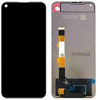 Дисплей Xiaomi Redmi Note 9 5G с тачскрином, оригинал, Black