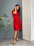 """Жіноче літнє плаття """"Валенсія""""  Батал, фото 2"""
