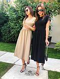 """Жіноче літнє плаття """"Валенсія""""  Батал, фото 5"""