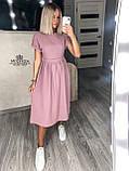 """Жіноче літнє плаття """"Валенсія""""  Батал, фото 7"""