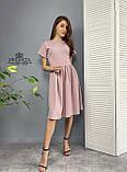 """Жіноче літнє плаття """"Валенсія""""  Батал, фото 8"""