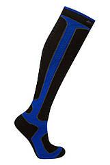 Термоноски BAFT Top-liner Long S (39-41) Синие с чёрным