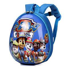 Рюкзак детский Orteker 3D дошкольный Щенячий Патруль мультяшные герои Синий